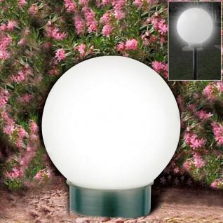 2er-Set LED-Solar-Kugelleuchte Kugellampe Leuchtkugel Solarlampe Lichtkugel - Vorschau 4