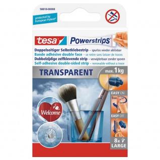 Powerstrips® Transparent Large