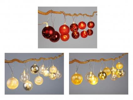 LED Weihnachtskugel Lichterkette Weihnachtsdekoration Weihnachtsbeleuchtung