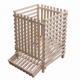 Kartoffelkiste Holz 100kg Buche Kartoffellager Obstkiste Kiste Box Küche Lager