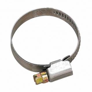 Schlauchschelle 35-50mm 12mm Bandbreite verzinkt