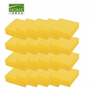 1000 Servietten gelb 33x33cm 3lagig 1/4 Falz Papierserviette Papiertuch Deko
