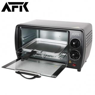 Minibackofen Grill Ofen Toaster Backblech Grillrost Pizzaofen Mini Backofen 12L