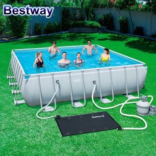 Bestway Solar-Pool-Heizmatte Poolheizung Solarmatte Kollektor Solarheizung