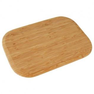 Bambusbrett 35, 5x25, 5cm Schneidebrett Küchenbrett Holzbrett Brotschneidebrett
