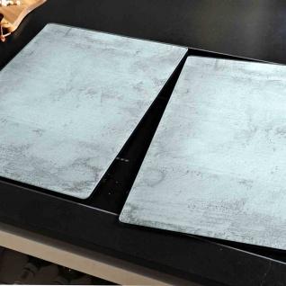 Herdabdeckplatte Glas 2er-Set 50 x 38, 5 x 0, 8 cm
