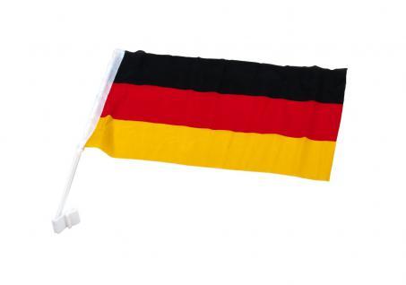 Deutschland Autofahne 45x30cm L=48cm