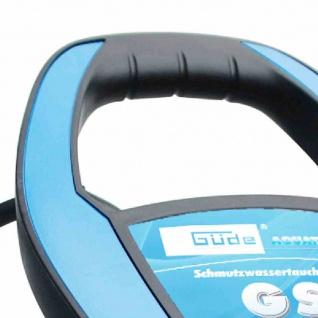 GS7501 I Schmutzwassertauchpumpe 750W, max. Fördermenge: 13000 l/Std.
