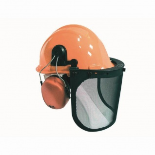 Kopfschutz-Kombination-Set, Helm, Visier, Ohrschutz