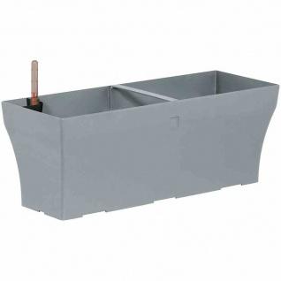 Bewässerungskasten NEO- Line 50cm betonfarbe Pflanztopf Blumenkasten Garten TOP