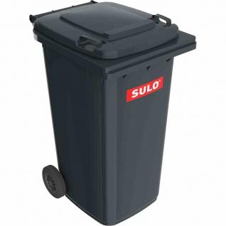 Kunststoff-Müllgroßbehälter grau 240 l MGB Kunststoff