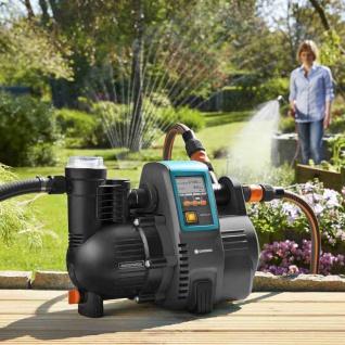 Haus- & Gartenautomat 5000/5 LCD Wasserversorgung Gartenpumpe Bewässerung Garten