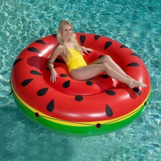 Bestway Schwimminsel Wassermelone Luftmatratze Badeinsel Schwimmliege Poolinsel - Vorschau 1