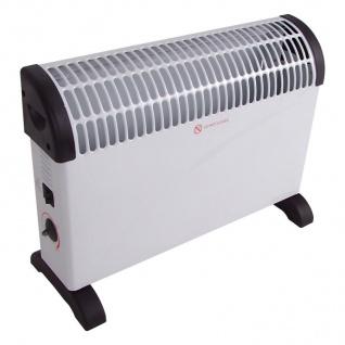 Konvektions-Heizgerät Konvektor 3 Heizstufen Heizlüfter Heizung Elektroheizung