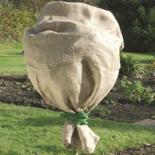 Jute Schutzsack grün 60x80cm Pflanzenschutz Winterschutz Pflanzen Schutz Balkon