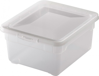 "rotho ROT Aufbewahrungsboxen ,, Clear Box"" 1708200096 Clear Box Small 2 Ltr.1708200096"