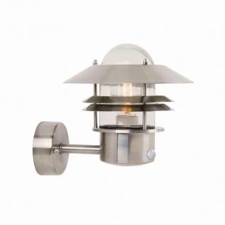 Blokhus Sensorleuchte 60W Allgebrauchslampe Glas klar Leuchte Lampe Beleuchtung