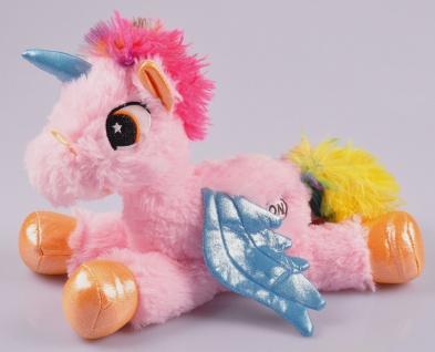 LED Einhorn mit Farbwechsel 30cm Unicorn Kuscheltier Plüschtier Stofftier Kinder - Vorschau 2
