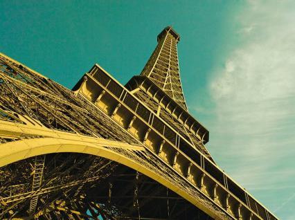 Maxi Wandsticker 3, 15x2, 35m Poster Eiffelturm Wandtattoo Wanddeko Wandaufkleber