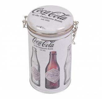 Kaffeedose Coca-Cola ca 500ml Design Kaffe Büchse Aromadose Bügelverschluss