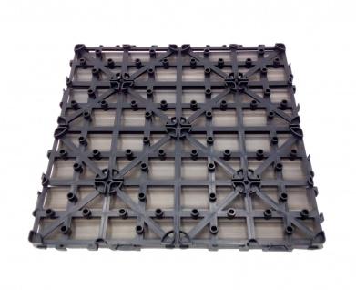 WPC-Fliesen 0, 81m² 30x30cm Holzoptik Bodenfliese Terrassenfliese Balkonfliese - Vorschau 4