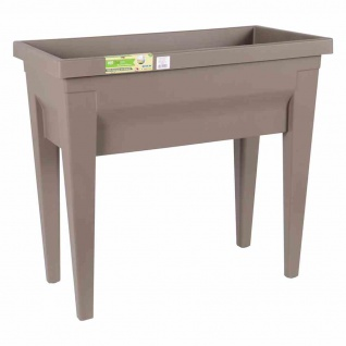 Hochbeet VEG & Table City taupe 57 l