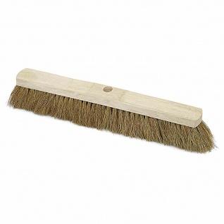 Saalbesen Kokos 40cm Sattelholz Straßenbesen Besen Kehrbesen Reinigung kehren