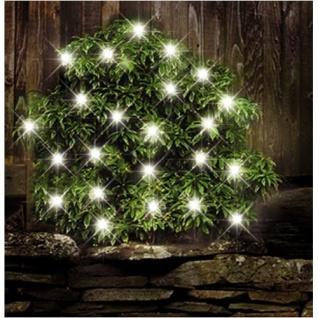 24 LEDs Solar-Lichterkette Außenbeleuchtung Solarlampe Gartenleuchte Weihnachten