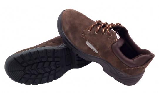 Sicherheitsschuhe Arbeitsschuhe Schutzschuhe Halbschuhe Stiefel Leder Stahlkappe - Vorschau 4