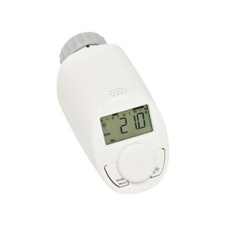 Eqiva Energiespar-Regler Model N für Heizkörper Thermostat Heizung Timer