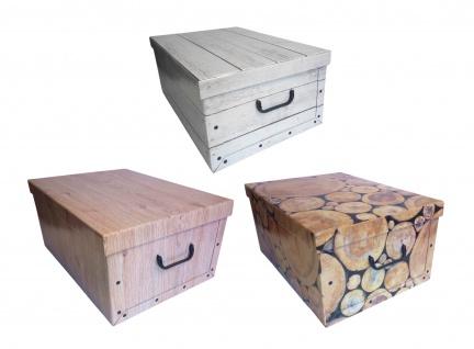 Aufbewahrungsbox aus Pappe Allzweckbox Aufbewahrungskiste Kiste Schachtel Box - Vorschau 1
