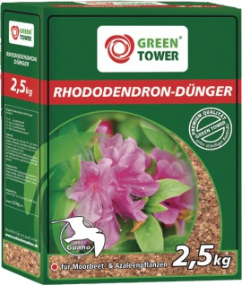 GREEN TOWER GT Rhododendrondünger Rhododendron Duenger 2.5 Kg Pkt