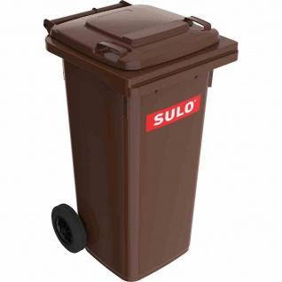 Kunststoff-Müllgroßbehälter braun 120 l MGB Kunststoff