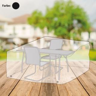 Abdeckhaube anthrazit für Sitzgruppe Abdeckplane Schutzhülle 230x160x95cm