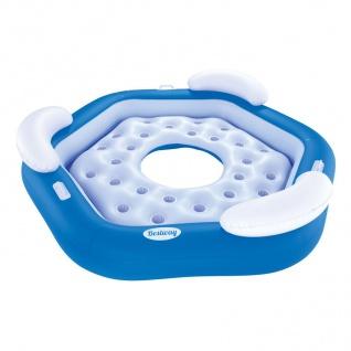 Bestway CoolerZ Badeinsel X3 3 Pers. Luftmatratze Schwimminsel Liege Pool Relax - Vorschau 2