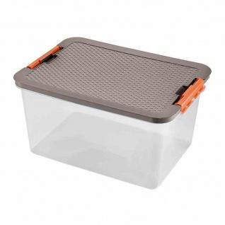 Systembox 38l 52x37x27cm + Deckel Box Boxen Aufbewahrung Möbel Haushalt wohnen
