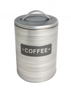 Metall Kaffeedose Kaffeebox Kaffeebehälter Kaffeespender Kaffeebüchse Blechdose