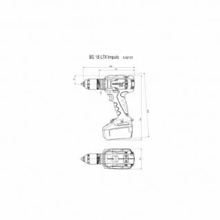 BS 18 LTX Impuls Akku-Bohrschrauber 2x18V/4Ah Li-Ion mit Ladegerät ASC 30-36 V