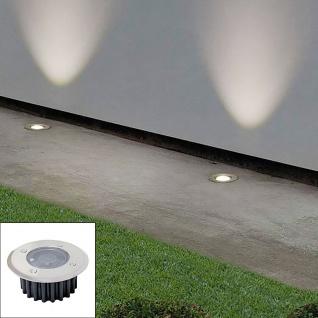 LED Solar-Bodeneinbauleuchte Bodenstrahler Bodeneinbaustrahler Solarlampen Licht