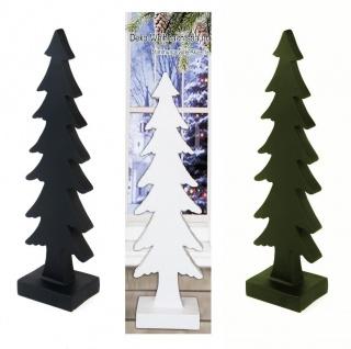Deko Weihnachtsbaum aus Polyresin 51cm