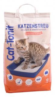 Cat Tonit Katzenstreu 10 Liter Klumpstreu Haustierstreu Einsteu Streu Haustier