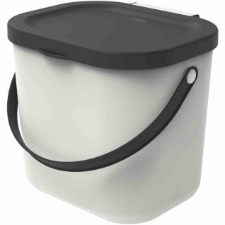 "Recycling-Müllsystem "" Albula"" 6 l weiß mistletoe white"