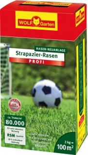 Wolf WOLF Garten Strapazier-Rasen PROFI 3821040 Grassamen Loretta Lj100