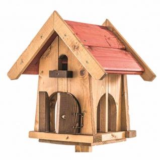 Vogelfutterhaus Max Vogelhaus Nistkasten Brutkasten Vogelvilla Vögel Garten TOP