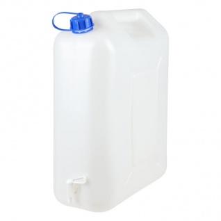 Wasserkanister mit Auslaufhahn 20L Wasserbehälter Wassertank Trinkwasserbehälter