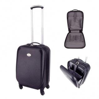 Meilenstiefel Hartschalen-Trolley Laptoptasche Hartschalenkoffer Reisekoffer
