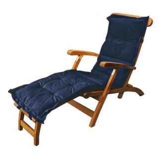 Teak Deckchair Auflage versch.Farben - Vorschau 1
