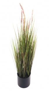 Künstliches Pampas-Gras 122cm Dekogras Grashalm Kunstpflanze Zimmerpflanze