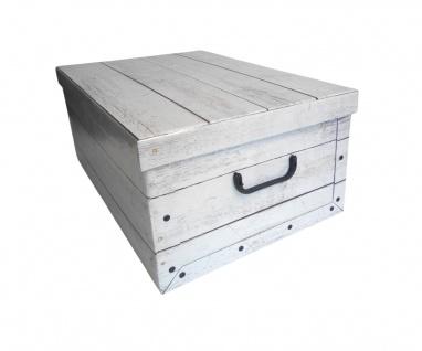 Aufbewahrungsbox aus Pappe Allzweckbox Aufbewahrungskiste Kiste Schachtel Box - Vorschau 4