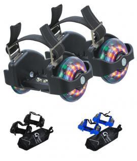 LED Fersenroller mit Tasche Funroller Leuchtroller Leuchträder Flashing Wheels